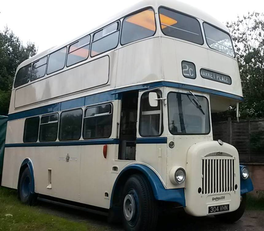 Double Deck Bus For Weddings In Oxford